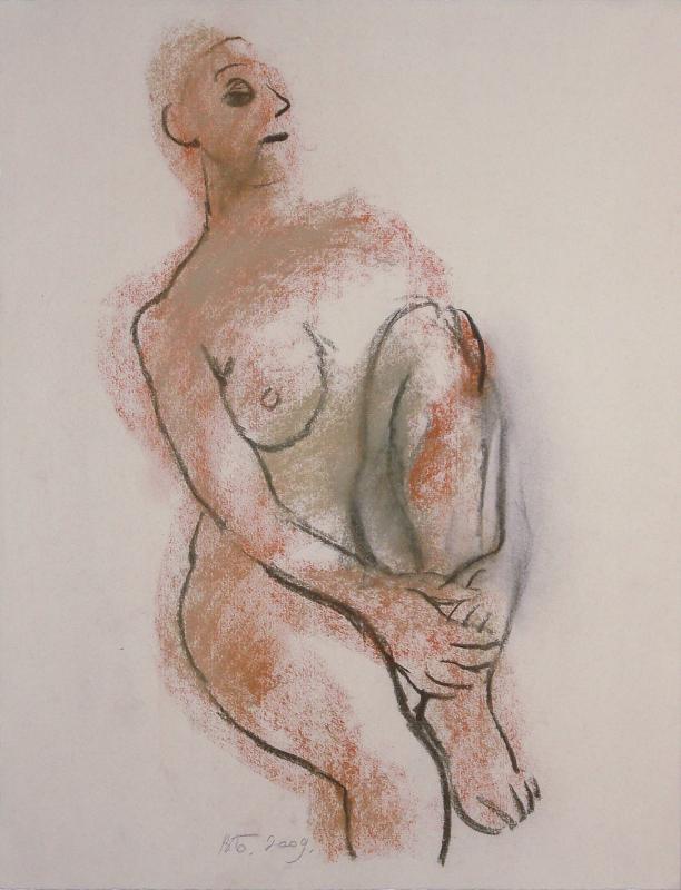 """Валерий Бабин """"Обнаженная"""" 2009"""