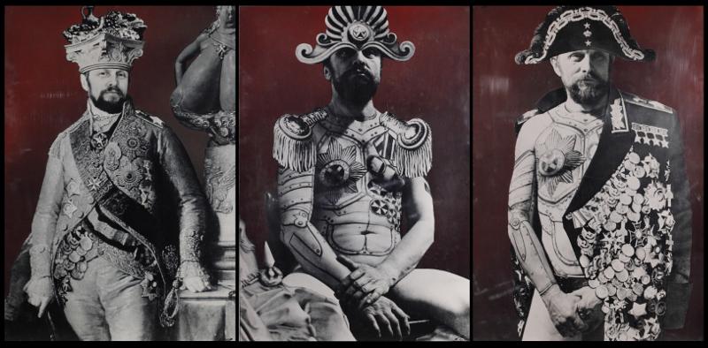 """Борис Орлов """"Автопортрет в имперском стиле"""" 1995-1996"""