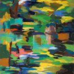 "Ляля Бушкова ""Милан. Озеро в парке. Впечатление"" 2013"