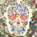 """Джеки Цай """"Chinese Floral Skull"""""""