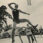 """Лев Бородулин """"Баскетбольный балет"""" Каунас, 1950-е"""