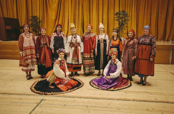 Концерт «Песни русского костюма». Фолк-студия «Горожане».