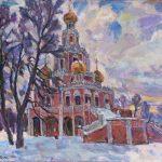"""Виктор Куколь """"Москва. Церковь в Филях"""" 2012"""