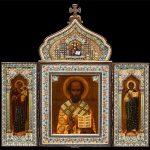 Произведения церковного искусства XV - начала XX веков.