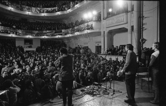 Юрий Рост. Лев Гущин на Неделе совести в ДК МЭЛЗ. 1988