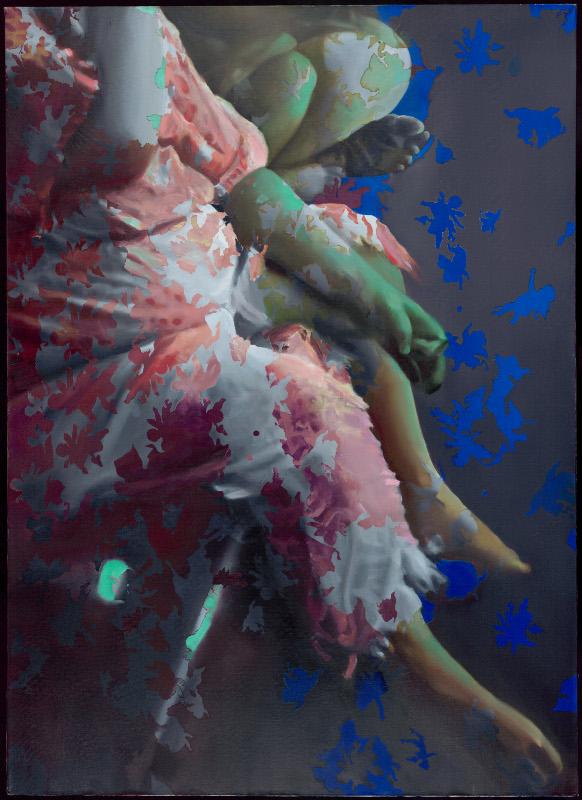 """Ирина Нахова """"Благовещение. Фрагмент триптиха"""" 2002"""