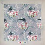 Эскиз ткани. Москва, Товарищество Прохоровской Трехгорной мануфактуры, 1906
