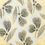 Эскиз ткани. Автор О. Грюн. Москва, Товарищество Прохоровской Трехгорной мануфактуры, 1907