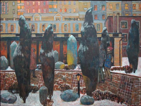 Творческая встреча с художником Милой Гавриловой.