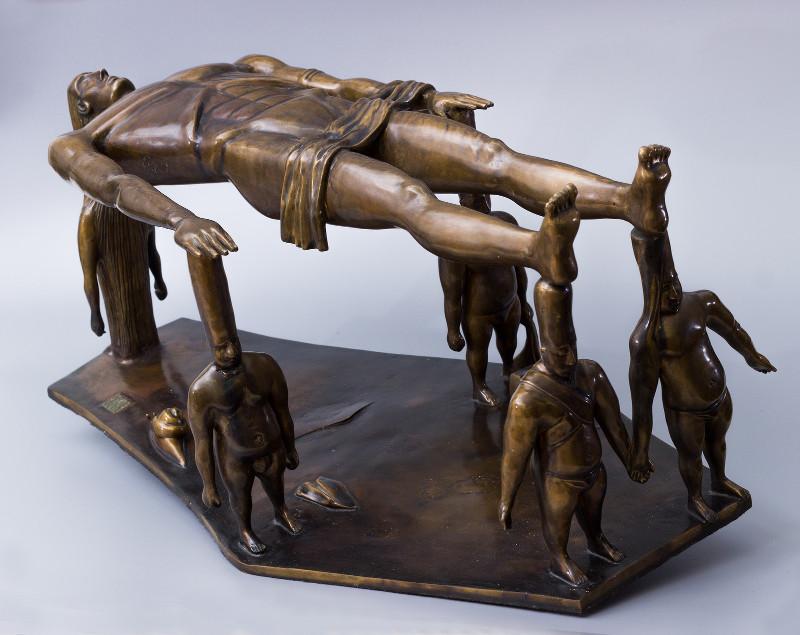 Персональная выставка. Скульптура. Графика.