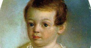 Детский портрет конца XVIII – второй половины XIX века. Из собрания Государственного музея А.С. Пушкина.
