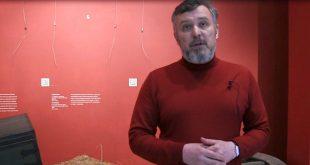 Директор Музея-панорамы «Бородинская битва» В.А. Преснов.