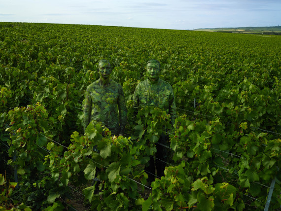 Ruinart x Liu Bolin «Vineyard»