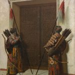 "Василий Верещагин ""Двери Тимура (Тамерлана)"" 1872"