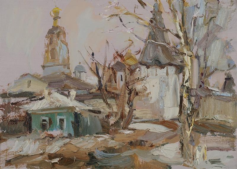 """Александр Филимонов """"Начало весны"""" 2015"""