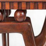 Сервировочный столик в стиле ар-деко, 1950-е. Дизайнер Джузеппе Анцани