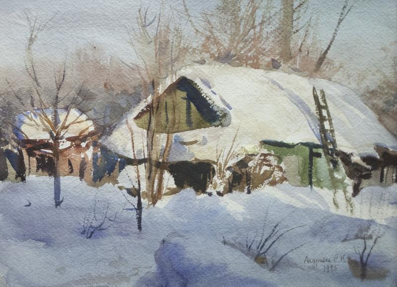 "Сергей Андрияка ""Сарайчик"" 1986"