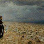 """Василий Верещагин """"Побежденные. Панихида"""" 1878-1879"""