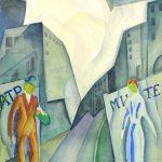"""Юрий Завадский """"Театральная композиция"""" Конец 1910-х — 1920-е"""