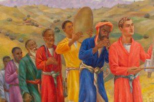 От голубой розы к золотому гранату. Образ Востока в русском искусстве первой половины 20 века.