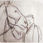 Рисунок Ирины Затуловской. Личный архив Л.С. Петрушевской