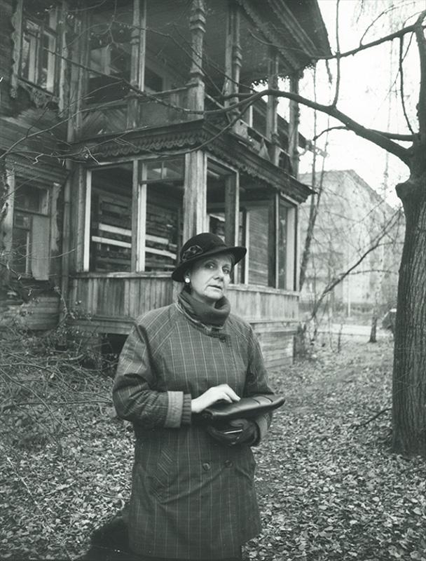 Людмила Петрушевская, 1987. Фото: Валерий Плотников