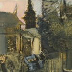 """Елена Ненастина """"Монастырь Тхат Луанг. Лаос, Луангпхабанг"""" 2016"""