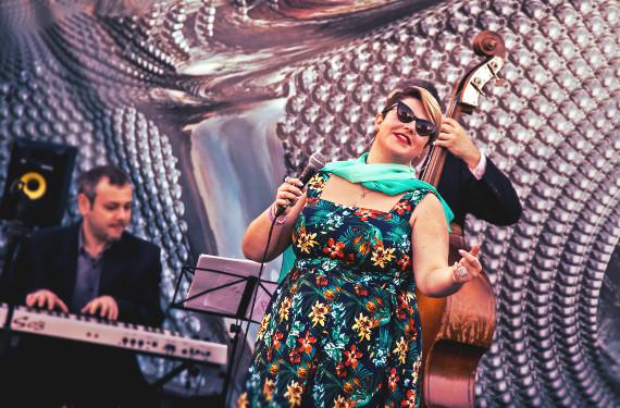 Marina Volkova Jazz Band с программой «Summer night city».
