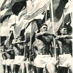 """Лев Бородулин """"Парад. Москва"""" 1956"""
