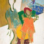 """Валерий Волков """"Два клоуна"""" 1963"""