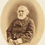 Портрет И.С. Тургенева. Фотограф М.М. Панов. Москва, 1880