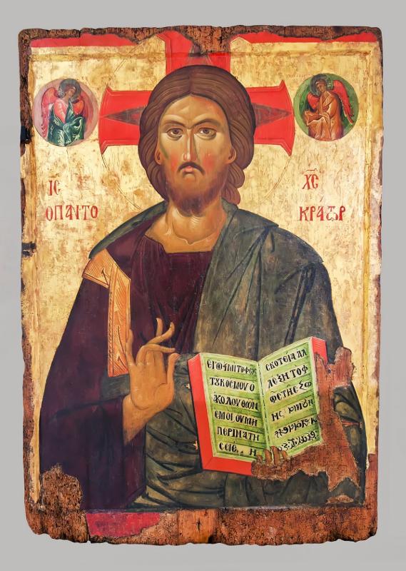 Христос Пантократор. XIII–XVIII века