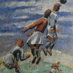 "Александр Родченко ""Футбол"" 1937"