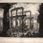 """Джованни Баттиста Пиранези """"Руины храма Нептуна в Пестуме"""" 1778"""