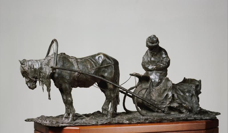 """П.П. Трубецкой """"Московский извозчик"""" 1898"""