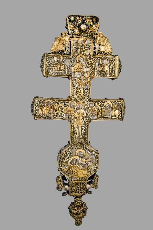 Крест. Мастер Коста Димитрий из Линотопи, 1786