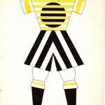 "Варвара Степанова ""Проект мужского спортивного костюма"" 1923"
