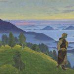 """Николай Рерих """"Дочь викинга"""" 1918"""