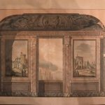 "Джакомо Кваренги ""Проект росписи"" 1780-1790-е"