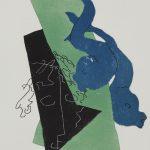 """Анри Лоранс """"Иллюстрация к изданию """"Лукиан Самосатский. Диалоги"""" 1951"""