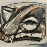 """Antonio Saura """"Retrato"""" 1961"""