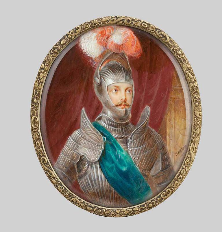 "А.Г. Рокштуль ""Портрет цесаревича Александра Николаевича"" 1850"