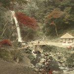 """Неизвестный автор """"Водопад Мино близ Кобэ"""" 1880-1890-е"""
