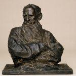 """П.П. Трубецкой """"Портрет графа Л.Н. Толстого"""" 1899"""