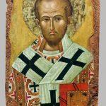 Святитель Иоанн Златоуст. Конец XIV – начало XV века