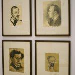 Владимир Маяковский. Портретная графика 1913-1915 годов