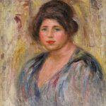 "Пьер Огюст Ренуар ""Женский портрет"" 1912"