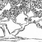 """Николай Пономарев """"Дерево"""" 1974"""