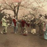 """Неизвестный автор """"На холме Ногэ в Йокогама"""" 1880-1890-е"""