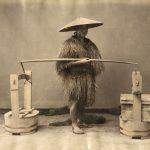 """Неизвестный автор """"Продавец тофу"""" 1880-1890-е"""